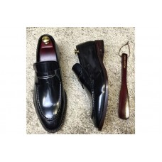 Louis Vuitton 1A3N22 LV Varenne Loafer And Shoes Black Leather