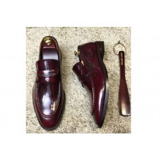 Louis Vuitton 1A3N22 LV Varenne Loafer And Shoes Red Leather