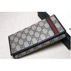 Gucci 212186 GG Supreme Bi-Fold Wallet