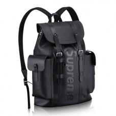 Louis Vuitton Epi Patchwork Christopher PM Backpack Bag Supreme Black