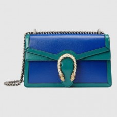 Gucci Blue Dionysus Bicolor Small Shoulder Bag