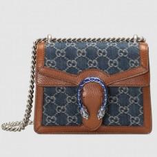 Gucci Dionysus Mini Bag In GG Washed Denim