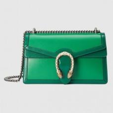 Gucci Green Dionysus Bicolor Small Shoulder Bag