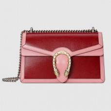 Gucci Red Dionysus Bicolor Small Shoulder Bag