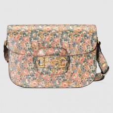 Gucci 1955 Horsebit Liberty London Shoulder Bag