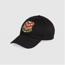 Gucci Baseball hat with Gucci Band patch 2019