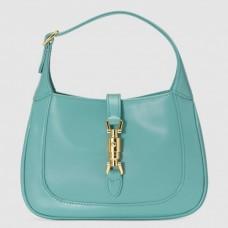Gucci Jackie 1961 Mini Hobo Bag In Blue Leather