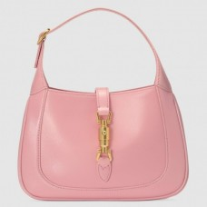 Gucci Jackie 1961 Mini Hobo Bag In Pink Leather