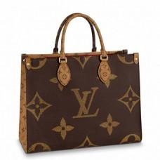 Louis Vuitton Onthego MM Bag Giant Monogram Reverse M45321