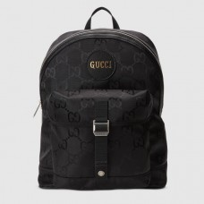 Gucci Off The Grid Backpack In Black GG Nylon