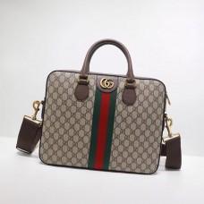 Gucci Ophidia GG briefcase 574793 Dark Coffee