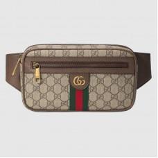 Gucci 574796 Ophidia Gg Belt Bags Beige/Ebony Soft Gg Supreme