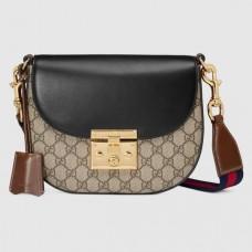 Gucci Padlock Medium GG Supreme Shoulder Bag