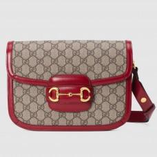 Gucci 1955 Horsebit Small Shoulder Bag In GG Supreme