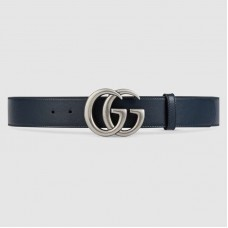 Gucci Leather belt with Double G buckle 397660
