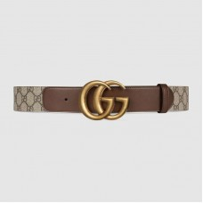 GG belt with Double G buckle 400593