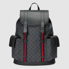 Gucci Black Soft GG Supreme Backpack