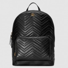 Gucci GG Marmont Backpack In Matelasse