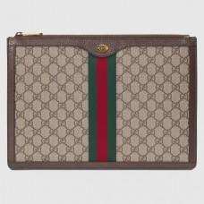Gucci GG Supreme Ophidia Portfolio Pouch