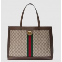 Gucci Ophidia GG Supreme Tote With Three Little Pigs