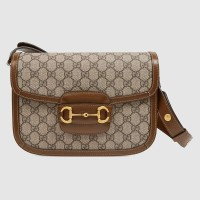 Gucci Selena Gomez Gucci 1955 Horsebit bag 2019 HOT sale