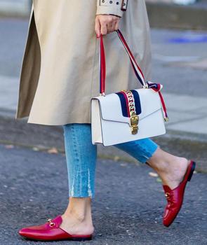 Gucci White Sylvie Small Shoulder Bag