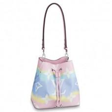 Louis Vuitton Monogram Giant Canvas LV Escale NéoNoé Bucket Bag M45124 Pastel Pink