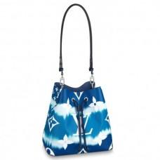 Louis Vuitton Monogram Giant Canvas LV Escale NéoNoé Bucket Bag M45126 Bleu