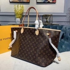Louis Vuitton Monogram Canvas Neverfull GM Tote M40991 Pink