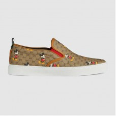 Gucci Men's GG Disney x Gucci slip-on sneaker