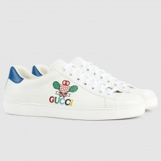Gucci Ace Sneakers With Gucci Tennis