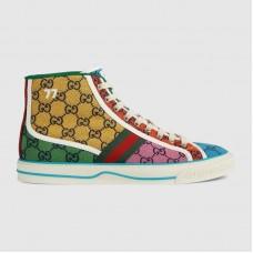 Gucci Men's Tennis 1977 GG Multicolor high-top sneakers